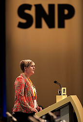 SNP Spring Conference, Saturday 27th April 2019<br /> <br /> Pictured: Hannah Bardell MP<br /> <br /> Alex Todd | Edinburgh Elite media