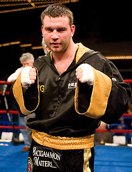 March 10, 2007 - New York, NY - Roman Greenberg defeats Michael Simms via 10 round decision at the Theater at Madison Square Garden in New York City.