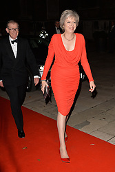© Licensed to London News Pictures. 14/12/2016. British Prime Minister THERESA MAY attends The Sun newspaper Millies Military Awards 2016 at Guildhall <br /> London, UK. Photo credit: Ray Tang/LNP