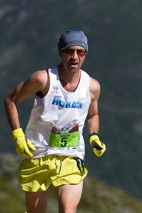 53rd Mt Washington 7.6 mile Road Race Base to Summit: Simon Guiterrez