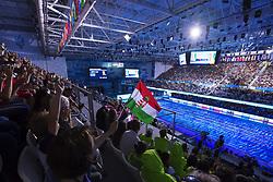 July 26, 2017 - Budapest, UNGERN - 170726 Ungerska fans hejar pÅ' Katinka Hosszu under sim-VM den 26 juli 2017 i Duna Arena i Budapest  (Credit Image: © Joel Marklund/Bildbyran via ZUMA Wire)