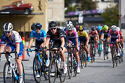 Julie Leth (DEN) in the bunch at Ladies Tour of Norway 2018 Stage 3. A 154 km road race from Svinesund to Halden, Norway on August 19, 2018. Photo by Sean Robinson/velofocus.com