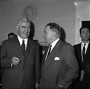 Corporation Nationalist Members of Derry visit An Taoiseach Sean Lemass.<br /> 29.07.1961