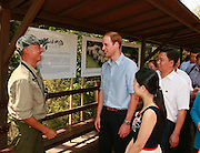XISHUANGBANNA, CHINA - MARCH 04: (CHINA OUT) <br /> <br /> The Duke Of Cambridge Visits Yunnan's Xishuangbanna<br /> <br /> Prince William, Duke of Cambridge visits a wild animals exhibition held by a photographer of wild animals Xi Zhinong during his visit Dai Autonomous Prefecture of Xishuangbanna/Sipsongpanna on March 4, 2015 in Xishuangbanna, Yunnan province of China. The Duke of Cambridge is on a four-day visit to China. He is the first senior British royal to visit China since the Queen and Prince Philip visited in 1986. <br /> ©Exclusivepix Media