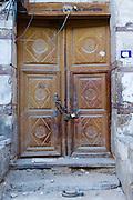 Locked door in old part of Jeddah