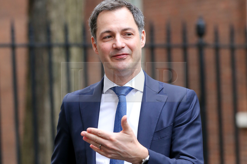 © Licensed to London News Pictures. 06/03/2019. London, UK. Alexander De Croo, Deputy Prime Minister of Belgium and Minister of Finance and Development Cooperation in Downing Street after meeting Philip Hammond - Chancellor in No 11 Downing Street. Photo credit: Dinendra Haria/LNP