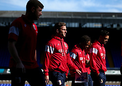 Joe Bryan of Bristol City and teammates arrive at Portman Road, for the Sky Bet Championship fixture with Ipswich Town - Mandatory by-line: Robbie Stephenson/JMP - 30/09/2017 - FOOTBALL - Portman Road - Ipswich, England - Ipswich Town v Bristol City - Sky Bet Championship