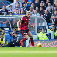 9th September 2017, Ibrox Park, Glasgow, Scotland; Scottish Premier League football, Rangers versus Dundee; Dundee's A-Jay Leitch-Smith