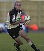 02/03/2003.Sport - 2003 Powergen Cup Semi- final - London Irish v Northampton Saints.Hentie Martens.