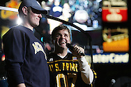 "Declared for Michigan, West QB Ryan Mallett and Richie McDonald, Country sensation, ""Lonestar"", performs a special concert for the men and women of the US Army along with the athletes and their families  following the US Army All American Bowl game, 6 Jan 07, Alamodome, San Antonio, TX"