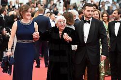 May 22, 2019 - Cannes, France - 72eme Festival International du Film de Cannes. Montée des marches du film ''Roubaix, une lumiere (Oh Mercy!)''. 72th International Cannes Film Festival. Red Carpet for ''Roubaix, une lumiere (Oh Merci!)'' movie.....239728 2019-05-22  Cannes France.. Wertmuller, Lina (Credit Image: © L.Urman/Starface via ZUMA Press)
