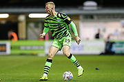 Forest Green Rovers Nathan McGinley(19) during the Leasing.com EFL Trophy match between Forest Green Rovers and Coventry City at the New Lawn, Forest Green, United Kingdom on 8 October 2019.