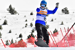 PRIOLO Paolo, SB-UL, ITA, Banked Slalom at the WPSB_2019 Para Snowboard World Cup, La Molina, Spain