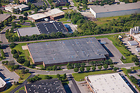 Baltimore Aerial photography of 1820 Portal Street warehouse by Jeffrey Sauers of Commercial Photographics