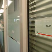 NLD/Den Haag/20061130 - Persrondleiding Nationaal Crisiscentrum Den Haag, operationele ruimte AIVD