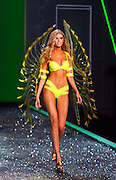 A Model displays a creation during the 2009 Victoria's Secret Fashion show at the 26th St Armory in New York City on November 19, 2009.