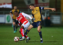 Gary O'Neil of Bristol City makes a tackle - Mandatory by-line: Matt McNulty/JMP - 17/01/2017 - FOOTBALL - Highbury Stadium - Fleetwood,  - Fleetwood Town v Bristol City - Emirates FA Cup Third Round Replay