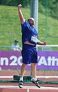 Piotr Malachowski (POL) wins the discus at 221-5 (67.50m) during IAAF Birmingham Diamond League meeting at Alexander Stadium on Sunday, June 5, 2016, in Birmingham, United Kingdom. Photo by Jiro Mochizuki