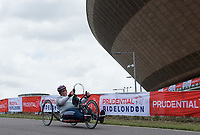 Robin Womack in action during the Prudential RideLondon Handcycle Grand Prix.<br /> <br /> Prudential RideLondon 28/07/2017<br /> <br /> Photo: Tom Lovelock/Silverhub for Prudential RideLondon<br /> <br /> Prudential RideLondon is the world&rsquo;s greatest festival of cycling, involving 100,000+ cyclists &ndash; from Olympic champions to a free family fun ride - riding in events over closed roads in London and Surrey over the weekend of 28th to 30th July 2017. <br /> <br /> See www.PrudentialRideLondon.co.uk for more.<br /> <br /> For further information: media@londonmarathonevents.co.uk
