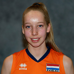 24-12-2019 NED: Photoshoot selection of Orange Youth Girls, Arnhem<br /> Orange Youth Girls 2019 - 2020 / Sabine de Groot #17