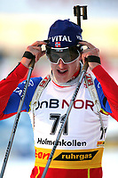 Biathlon, 09. december 2004, World Cup, Oslo,   Lars Berger, Norge