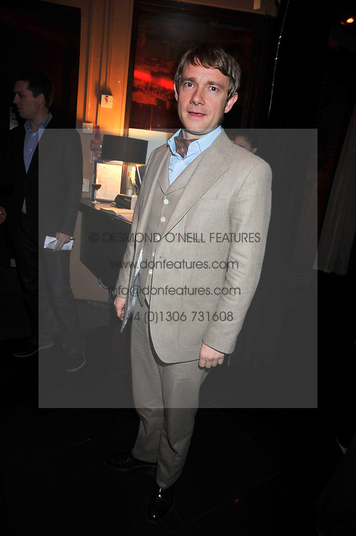 MARTIN FREEMAN at a reception following the screening of the film '44 Inch Chest' part of the 2009 BFI London Film Festival, held at Maddox, 3-5 Mill Street, London on 17th October 2009.