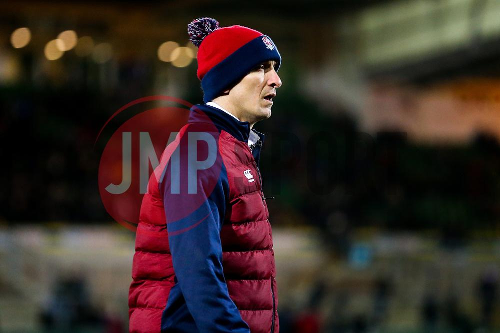 England U20 head coach Alan Dickens - Rogan/JMP - 21/02/2020 - Franklin's Gardens - Northampton, England - England U20 v Ireland U20 - Under 20 Six Nations.