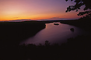 PA landscapes, Susquehanna River, Sunset