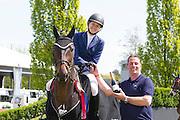 Hilary McNerney - Balans RV winner Karpack Prix<br /> CSI Eindhoven 2016<br /> © DigiShots