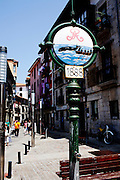 The old town in Lekeitio.