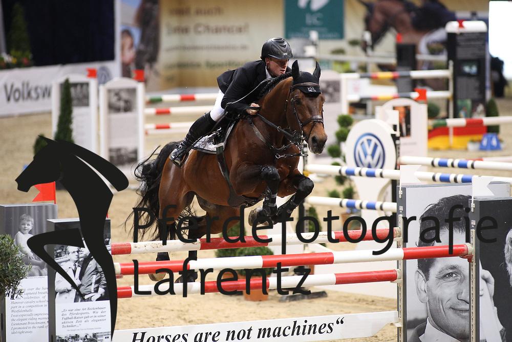 Greve, Willem (NED), Eldorado vd Zeshoek<br /> Braunschweig - Löwen Classics 2016<br /> 2. Qualifikation Grosse Tour<br /> © www.sportfotos-lafrentz.de / Stefan Lafrentz
