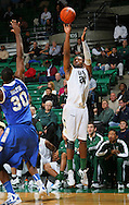 Dec 07, 2011; Birmingham, AL, USA; UAB Blazers guard Preston Purifoy (24) shoots against the Middle Tennessee Blue Raiders at Bartow Arena. The Blazers defeated the Blue Raiders 66-56 Mandatory Credit: Marvin Gentry-