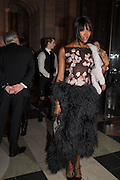 NAOMI CAMPBELL, Alexander McQueen: Savage Beauty Gala, Victoria and Albert Museum, and A. 12th March 2015