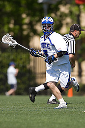 06 May 2007: Duke Blue Devils midfielder Peter Lamade (5) during a 19-6 victory over the Air Force Falcons at Koskinen Stadium in Durham, NC.