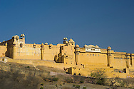 The Amber Fort in Jaipur, Rajasthan, India