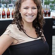 NLD/Amsterdam/20120601 - Uitreiking Talkies Terras Awards 2012, zwangere Jessica Mendels