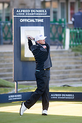 Paul Lawrie. Alfred Dunhill Links Championship this morning at St Andrews.