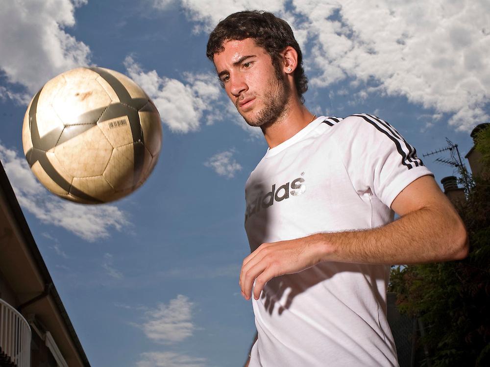 Oscar Sielva, jugador del R.C.D. Espanyol.