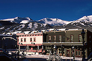 Gold Pan Bar, Main Street, Breckenridge, Colorado, Winter