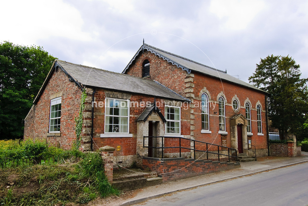 Lund Village, East Yorkshire. Methodist chrch on Lockington road.