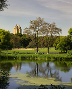 The Eldorado As Seen From Turtle Pond in Central Park on a Late Afternoon in June: Reflections
