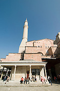 Turkey, Istanbul, the Hagia Sophia Museum