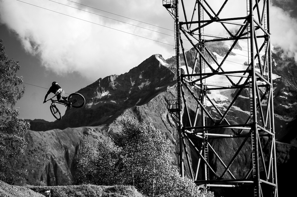 Crankworx slopestyle, les 2 Alpes, France.