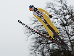 02.02.2014, Energie AG Skisprung Arena, Hinzenbach, AUT, FIS Ski Sprung, FIS Ski Jumping World Cup Ladies, Hinzenbach, Wettkampf, im Bild #39 Julia Kykkaenen (FIN) // during FIS Ski Jumping World Cup Ladies at the Energie AG Skisprung Arena, Hinzenbach, Austria on 2014/02/02. EXPA Pictures © 2014, PhotoCredit: EXPA/ Reinhard Eisenbauer