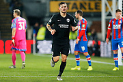Pascal Gross in action during the Premier League match between Crystal Palace and Brighton and Hove Albion at Selhurst Park, London, England on 16 December 2019.
