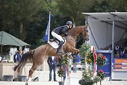 149 - Flair - Romp Ruben<br /> 4 Jarige Finale Springen<br /> KWPN Paardendagen - Ermelo 2014<br /> © Dirk Caremans