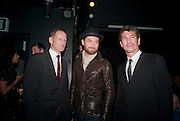 SIR NICHOLAS SEROTA; JUDE LAW; ALEX TURNBULL, Vanity Fair  hosted  UK Premiere and party for Beyond Time. A film about the artist William Turnbull made by his son Alex Turnbull. Narrated by Jude Law. I.C.A. London. 17 November 2011<br /> <br />  , -DO NOT ARCHIVE-© Copyright Photograph by Dafydd Jones. 248 Clapham Rd. London SW9 0PZ. Tel 0207 820 0771. www.dafjones.com.