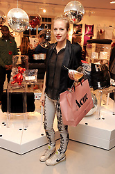 POLLY MORGAN at the H&M Home Launch held at 174-176 Oxford Street, London W1 on 2nd November 2010.