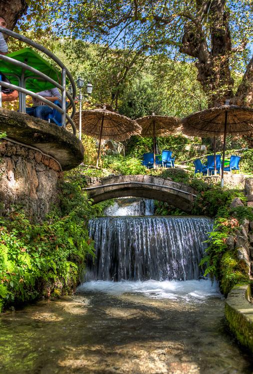 Waterfalls in Borsh