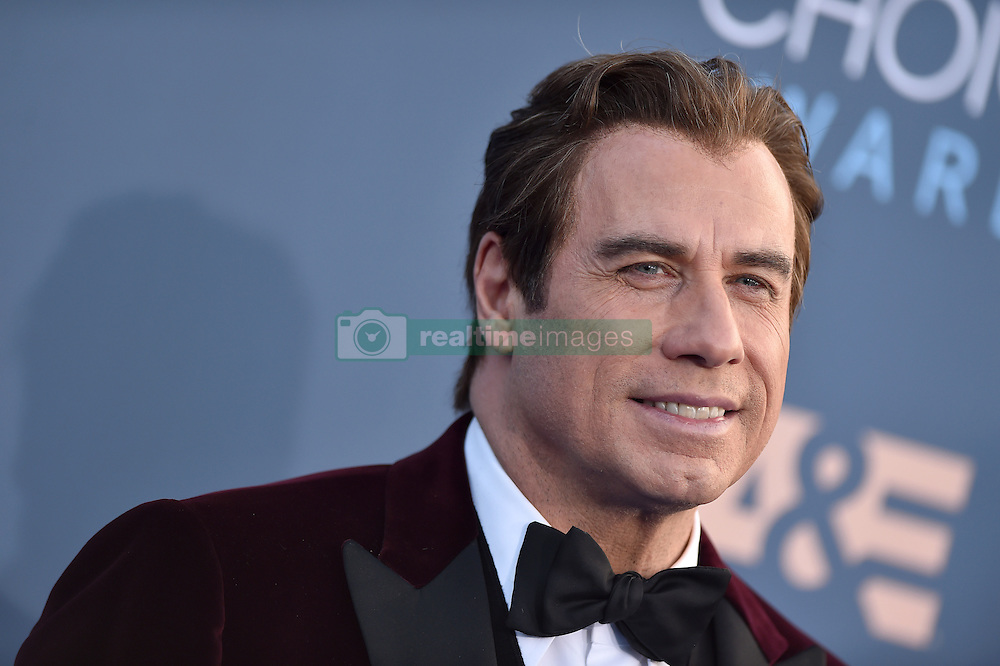 John Travolta attends the 22nd Annual Critics' Choice Awards at Barker Hangar on December 11, 2016 in Santa Monica, Los Angeles, CA, USA. Photo By Lionel Hahn/ABACAPRESS.COM